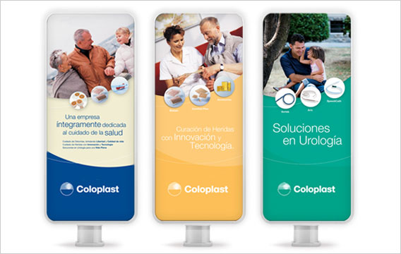 Banner Stand Coloplast